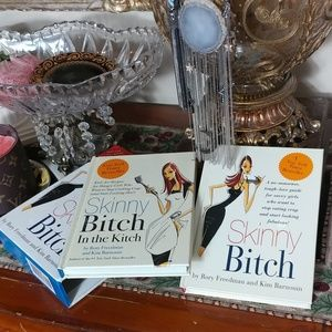 """ SKINNY BITCH"" Set of 2 Books"